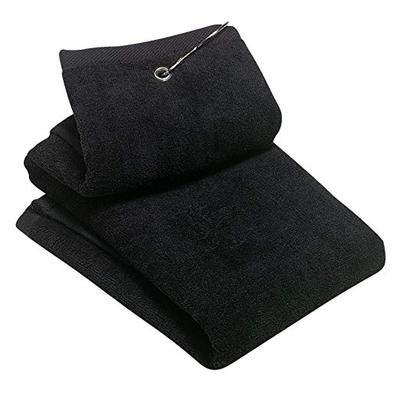 Grommeted Tri Fold Golf Towel Thumbnail