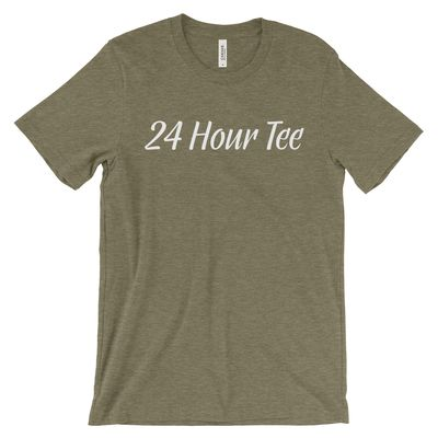 24 Hr Youth Triblend Short Sleeve Tee Thumbnail